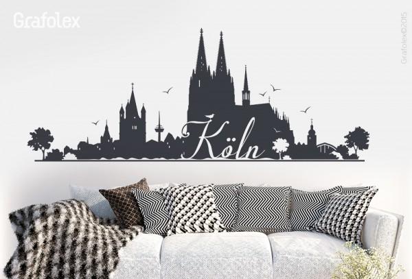 Wandtattoo Köln w103